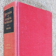 "Vintage Medical Book "" Clinical Pathology """