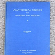 Vintage Medical Book -  Anatomical Studies