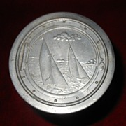 1940's Collapsable Nautical Aluminum Cup