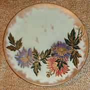English Pinder Bourne Co. Earthenware Plate