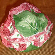 Vietri - Hydrangea Flower Pottery Box With Lid - Individual Casserole