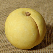 Italian Alabaster Stone Fruit - Peach