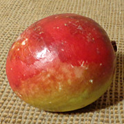 Italian Alabaster Stone Fruit - Plum