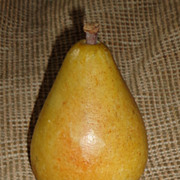 Italian Alabaster Stone Fruit - Pear
