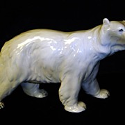 Large Polar Bear Figurine Made in Austria