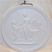 Royal Copenhagen Bisque Figural Nude Plaque