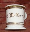 Antique German Shaving Mug - McCary