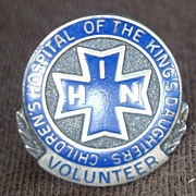 Childrens Hospital Volunteer Pin