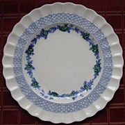 SALE Rare Spode Blue Belle China Luncheon Plate