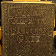 Audels Carpentry and Builders Guide #1 - 1949