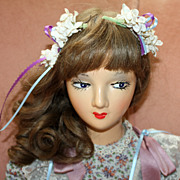 SALE c.1920/30's Boudoir Doll Great Condition Purchased From Original Owner