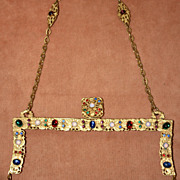 SALE Gorgeous Jeweled Purse Frame