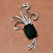 c.1930's Coro Craft Sterling Pin