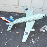 REDUCED Pop-art plane weathervane