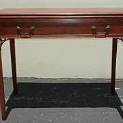 REDUCED Early 19th century Chippendale style side / game table