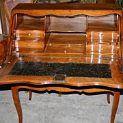 REDUCED 18th Century - Louis XV period signed writing desk