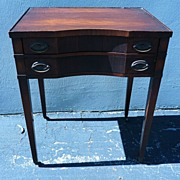 REDUCED 19th century mahogany Georgian style side table