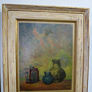 Framed print of Alexander Canedo painting