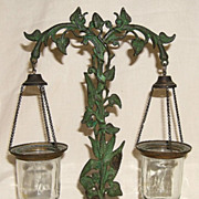 Whale Oil Float Lamp � All Original � Mid-1800�s