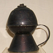Tin Petticoat Whale Oil  Lamp  American - Ca. 1840