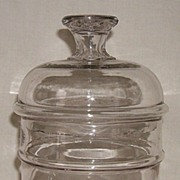 Apothecary/Storage Jar � Pittsburgh � Patent Dated 1866