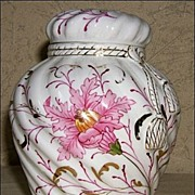 R.S. Prussia Rose or Potpourri Jar - German