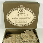 Vintage Royal British History Jigsaw Puzzle Wallis's