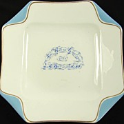 1885 New Year's Greeting Trade Plate Sampson Bridgwood - Stratford Ontario