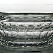 Elegant Glass Cambridge Martha Washington Glass Console Bowl