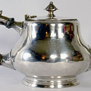 Antique Christofle Armand Frenais France Silver Plated Teapot