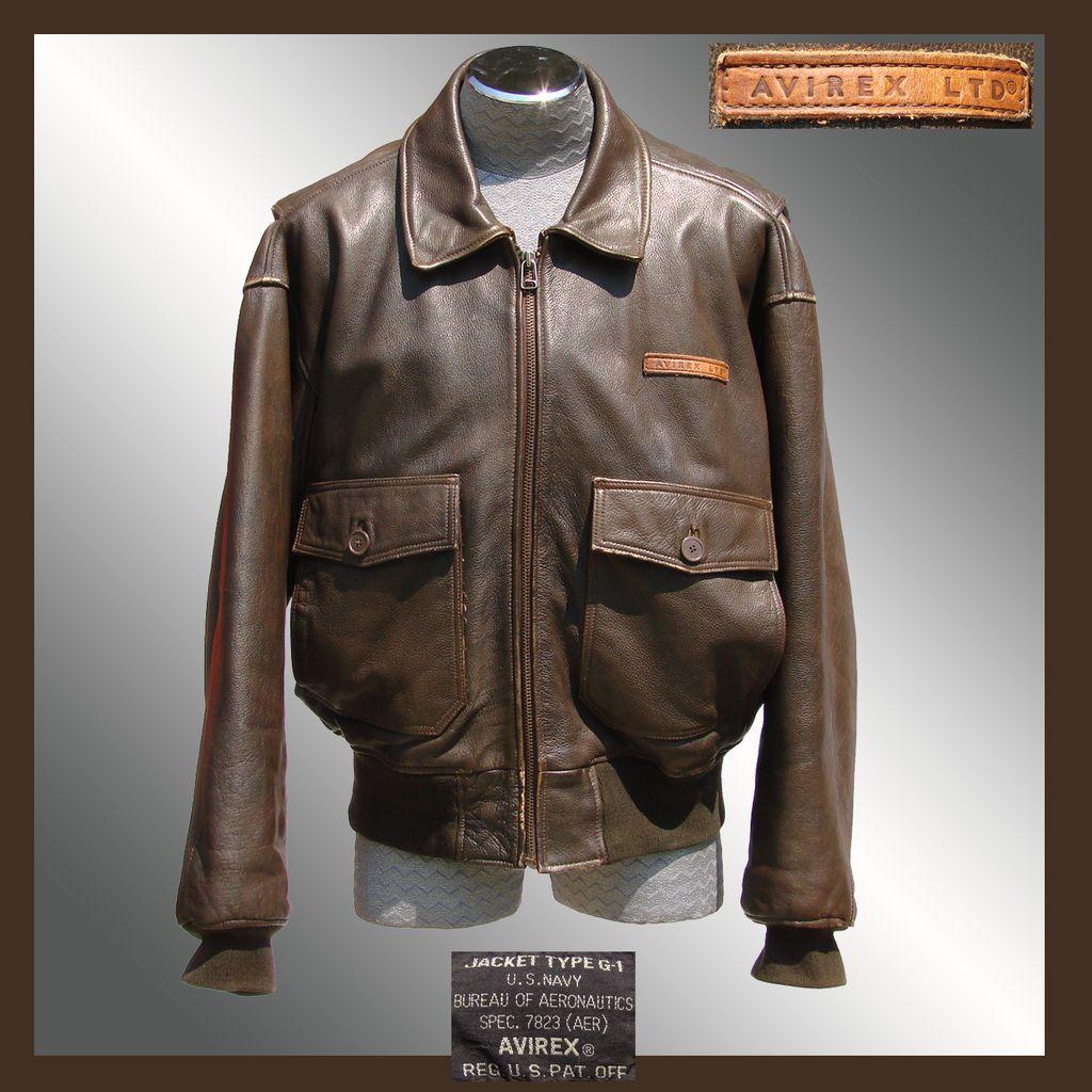 Avirex leather flight jackets