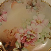 Antique Klingenberg and Dwenger Porcelain Limoges Plate