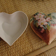 LARGE Precious Limoges D&C Signed Heart Trinket Vanity Box dated 1909 Mother's Day Gift