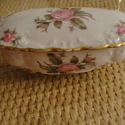 Precious Limoges GDA Lipstick Trinket Vanity Box Mother's Day Gift