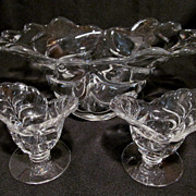 Pretty Sylvan, Duncan Miller Bowl & Candle Holders