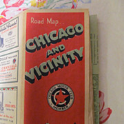 1941-42 Chicago & Vicinity Road Map, Chicago Motor Club