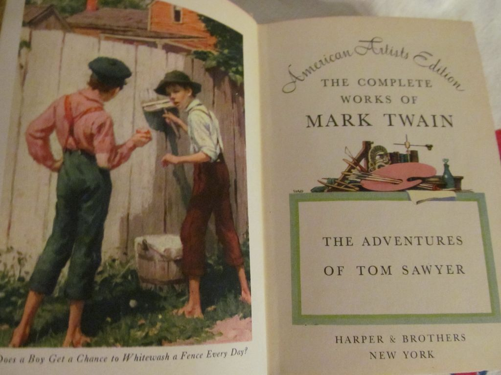 tom sawyer 1 4 mark twain essay During this lesson, we will learn about mark twain's classic novel, 'the adventures of tom sawyer,' by studying an overview of both the plot and.