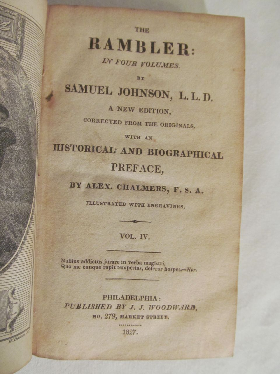 "samuel johnson rambler essays Samuel johnson believed that ""a man may write at any time if he set himself doggedly to it"" and in 1750 he did just that, agreeing to write andpublished two periodic papers each week while he was in the midst of composing his dictionary of the english language the son of a bookseller, a voracious."