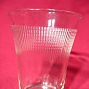 Saguenay Glass Crystal Juice Tumbler ~ 5oz