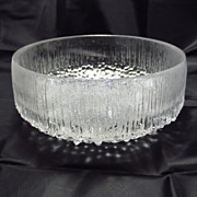 Iittala Ultima Thule Serving Bowl ~ Tapio Wirkkala
