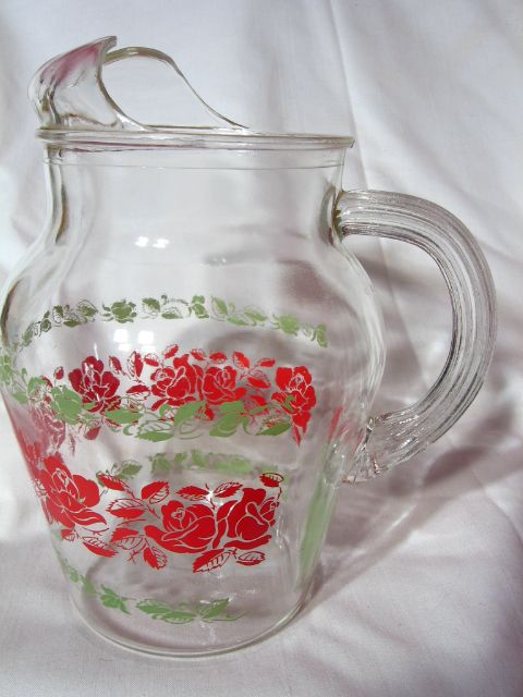 Vintage Anchor Hocking 40 oz Juice Pitcher
