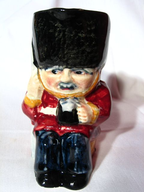 Vintage Shorter and Son Guardsman Character Jug