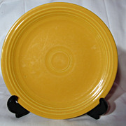 Vintage Fiesta Original Yellow Salad Plates