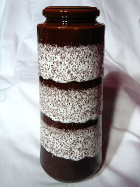 Retro West German Scheurich Fat Lava Vase~206-26