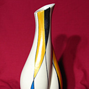 Retro 1950's Zell Schmider West German Mid-Century Modern Vase