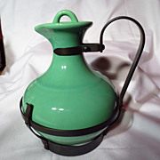 Gladding McBean Franciscan El Patio Apple Green Carafe