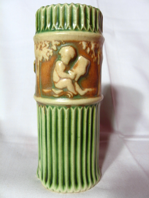 "Roseville Donatello 6"" Vase"