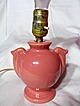 Brush McCoy Small Pink Child's Bedroom Lamp