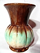 Early German Art Pottery Melon Vase