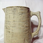 REDUCED Medalta Redcliff Birch Bark Pitcher